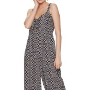 Live to be spoiled jumpsuit romper sz med